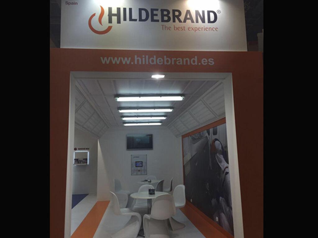 Las cabinas de pintura de Hildebran, en el pabellón 11.1.