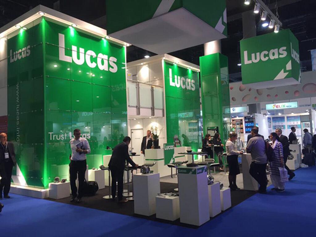 El verde de Lucas, muy presente en Automechanika.