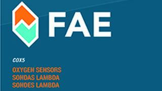 FAE edita nuevo catálogo COX5 de sondas lambda