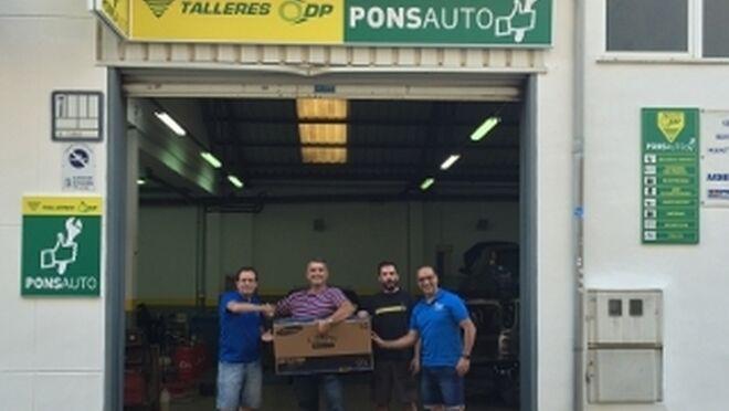 Nueva entrega de regalos del rasca y gana de talleres dp - Reparacion tv valencia ...
