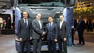 Hankook se convertirá en el proveedor de equipo original de Scania