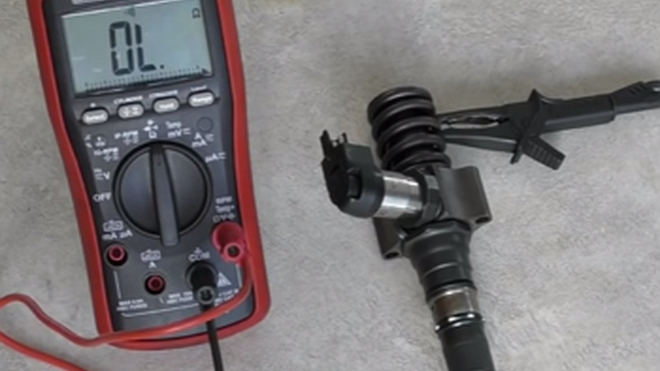 Cómo identificar un inyector bomba en cortocircuito