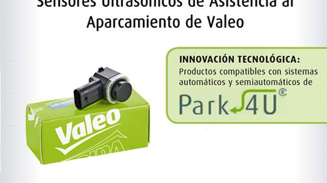 Valeo, sensores ultrasónicos de asistencia al aparcamiento