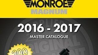 Nuevo catálogo maestro de amortiguadores Magnum de Monroe