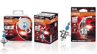 Osram presenta su luz halógena más potente para automóviles