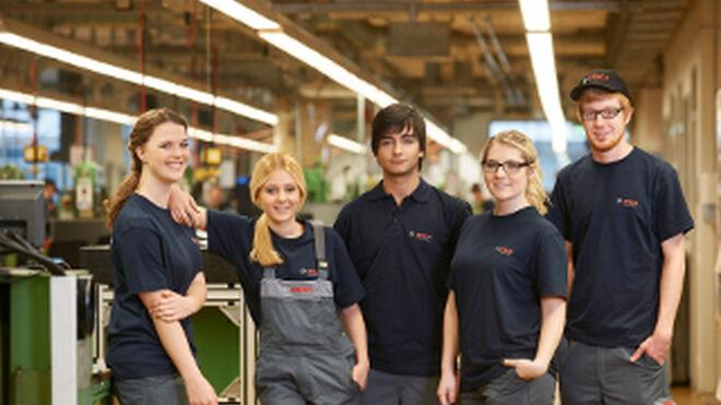 Bosch ayuda a los Bosch Car Service de Madrid a contar con jóvenes aprendices
