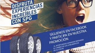 SPG Talleres sortea en Facebook cambios de neumáticos gratis