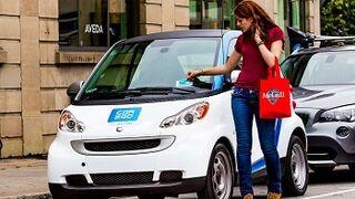 El 'carsharing', la movilidad alternativa sigue creciendo