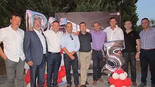 BASF Coatings Services celebra su V aniversario como distribuidora en Murcia
