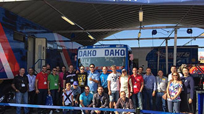 Europart lleva a sus clientes al GP de Camión de España 2016