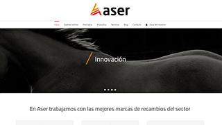 Aser Automotive pone en marcha su página web
