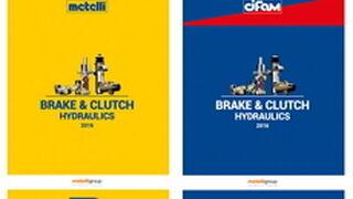 Nuevos catálogos de frenos y embragues hidráulicos de las marcas de Metelli