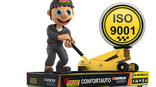 Confortauto renueva su certificado de calidad ISO 9001