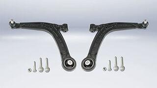 Meyle desarrolla un brazo de suspensión reforzado para Fiat