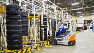 Michelin muestra con orgullo su fábrica de Aranda de Duero (Burgos)