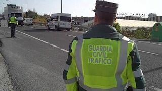 La DGT comienza su campaña de control de camiones y autobuses en Murcia
