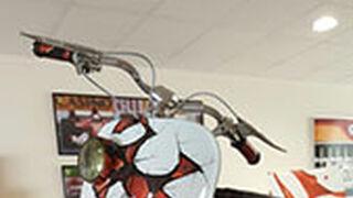 Un taller Five Star crea una Vespa 'mutante' para un sorteo benéfico