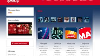 Amalie pone en marcha su nueva página web con diseño responsive