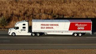 El primer camión autónomo de Uber recorre casi 200 km