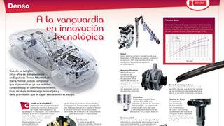 Denso, a la vanguardia en innovación tecnológica