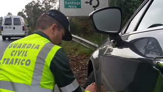 Más de 100 denuncias por neumáticos en mal estado en Galicia