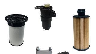 Módulos de filtración de aceite y gasoil UFI en el Alfa Giulia