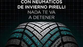 Pirelli regala 40€ en carburante al adquirir 4 neumáticos de invierno