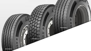 Riken presenta su nueva gama de neumáticos de camión RoadReady