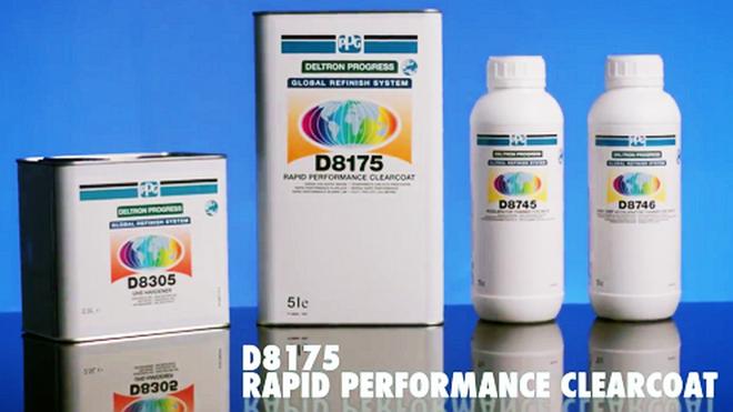 El Barniz Rapid Performance D8175 de PPG reduce al máximo los tiempos de repintado