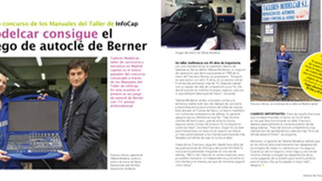 Modelcar consigue el juego de autoclé de Berner