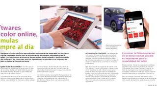 Softwares de color online, fórmulas siempre al día