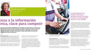 Acceso a la información técnica, clave para competir