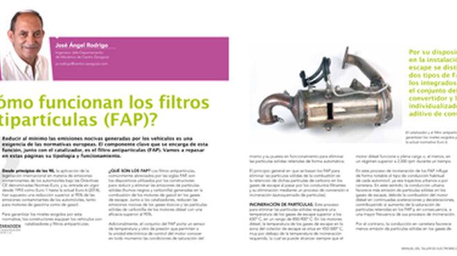 Cómo funcionan los filtros antipartículas (FAP)