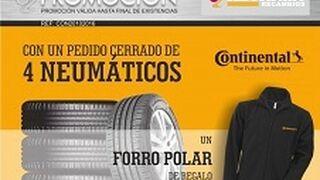 Campaña solidaria de Reynasa y Continental con los neumáticos de la marca