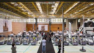 Bridgestone y Javier Gómez Noya, protagonistas de un triatlón indoor solidario