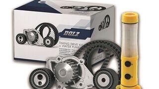 Dolz promociona sus kits de distribución con bomba de agua