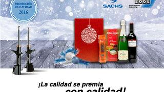 Lote navideño de regalo con los amortiguadores Sachs y Boge