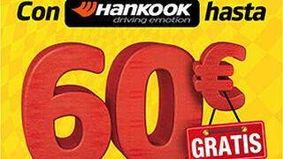 Confortauto regala hasta 60€ al comprar neumáticos Hankook