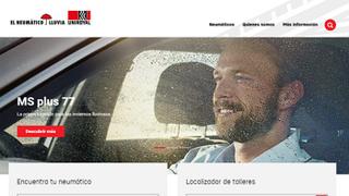 Uniroyal lanza su nueva web en español, más visual y 'responsive'