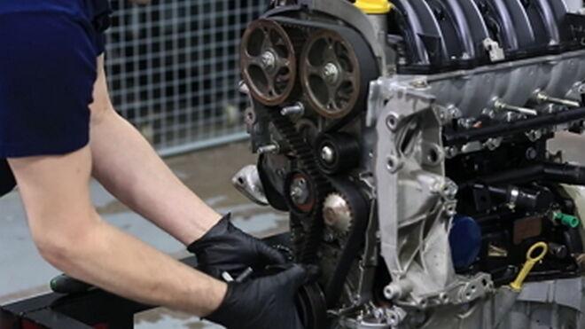Cómo cambiar la correa de distribución de un motor 1.6 DOHC de Renault