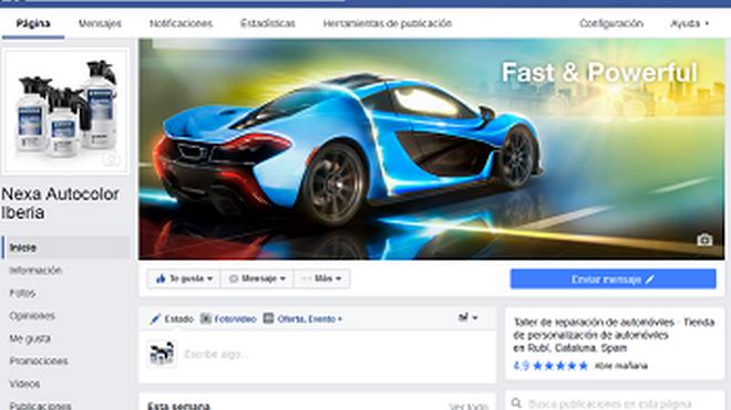 Nexa Autocolor supera los 2.000 seguidores en Facebook