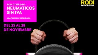 Rodi Motor Services arranca su campaña prenavideña con los 'Cyber Days'