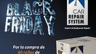 Car Repair System promociona su burlete de espuma adhesivo el Black Friday