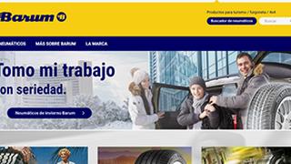 Barum renueva su web en España con diseño responsive