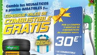 Aurgi regala hasta 30 € en combustible con el cambio de neumáticos