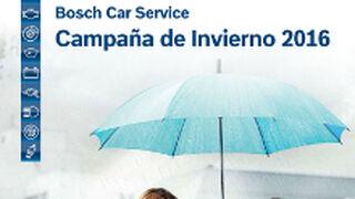 Bosch Car Service inicia su campaña de invierno