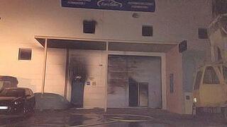 Investigan si el incendio de un taller en Formentera fue provocado