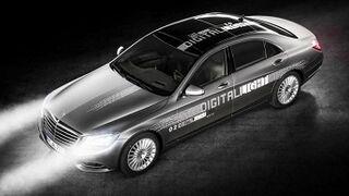 Mercedes avanza en los sistemas de iluminación
