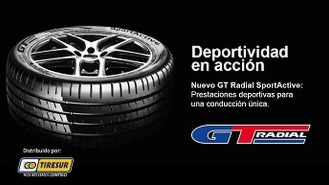 GT Radial vuelve a promocionar su neumático UHP SportActive