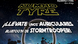 Kumho regala unos auriculares de Star Wars a sus fans de Facebook